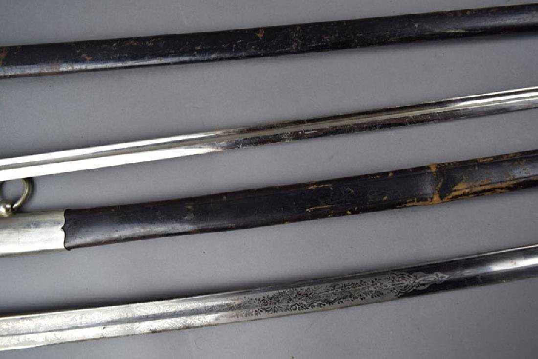 Lot of Two  German WWI Period Swords - 5