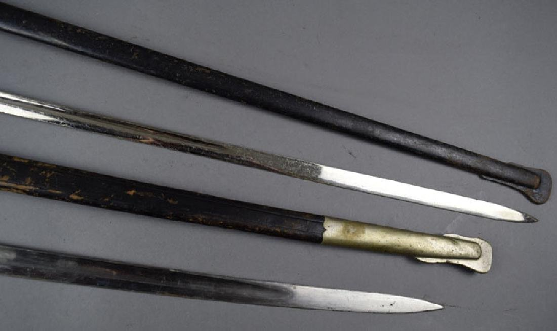 Lot of Two  German WWI Period Swords - 6
