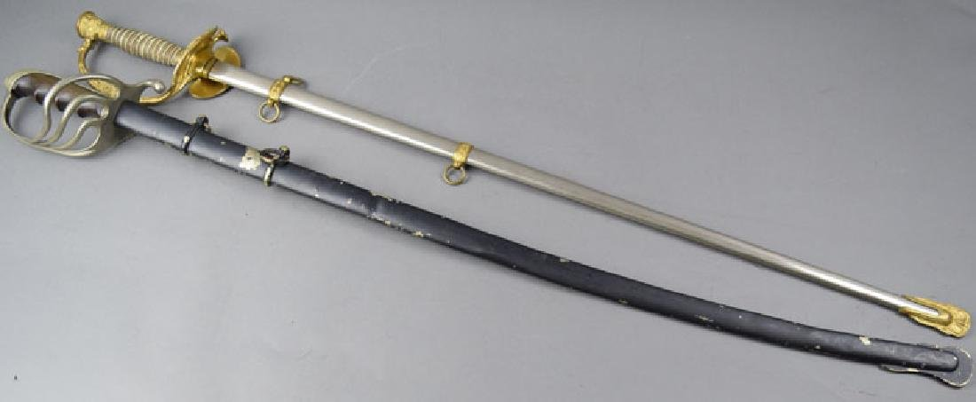 Lot of 2 US WWI period Swords