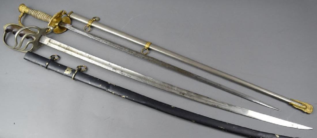 Lot of 2 US WWI period Swords - 2