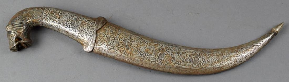 Vintage Indian Decorated Dagger