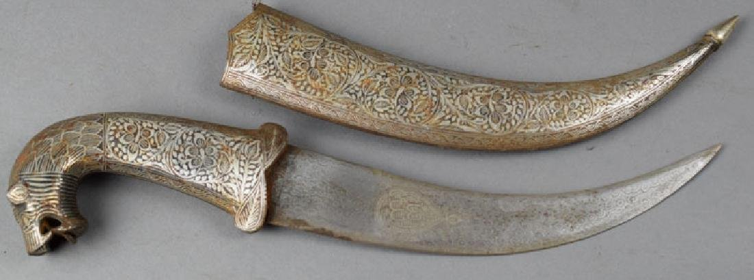 Vintage Indian Decorated Dagger - 2