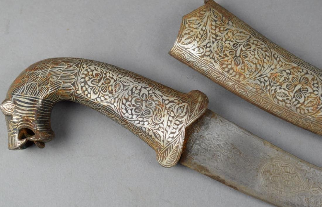Vintage Indian Decorated Dagger - 3