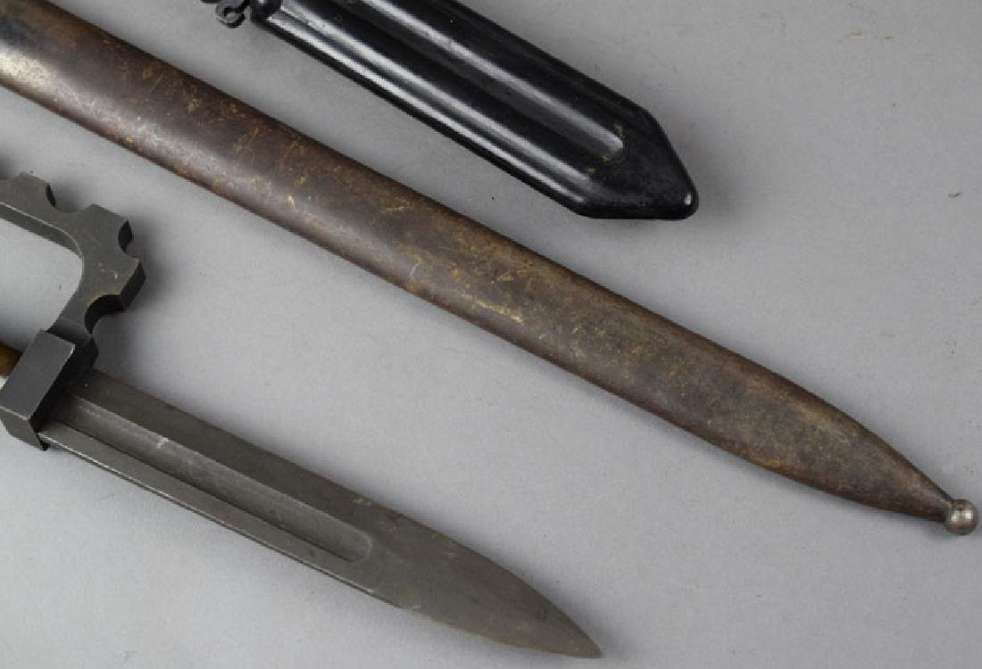 Rare Norinco clayco chinese bayonet and two others - 3