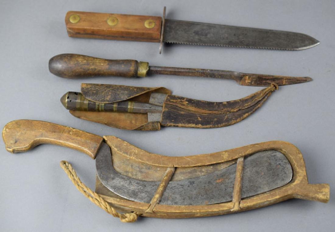 Lot of Vintage Survival Knives