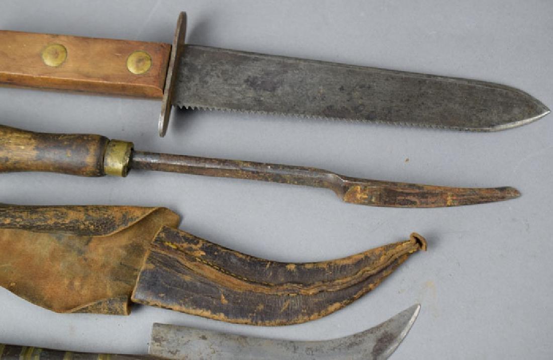 Lot of Vintage Survival Knives - 3