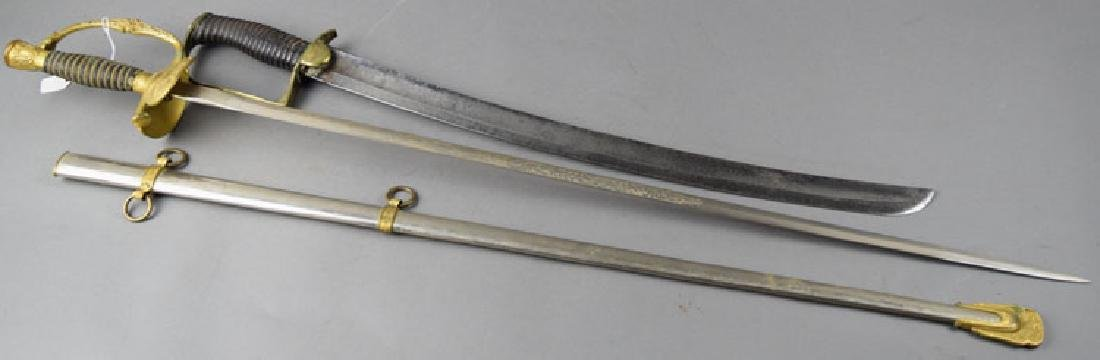 Lot of Two Antique US swords - 2