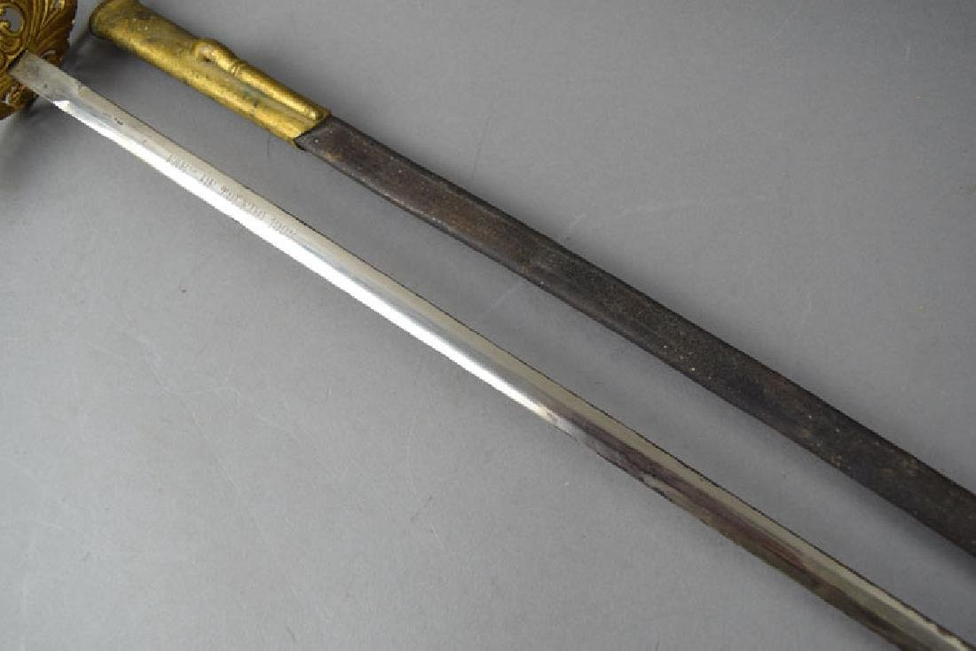 Early 20th Century European Naval Officer Sword - 4