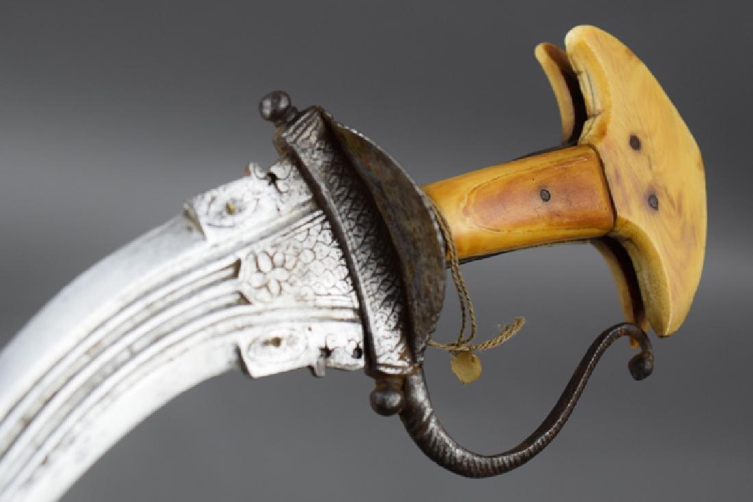 Rare Khanjarli Dagger, India 18 C - 3
