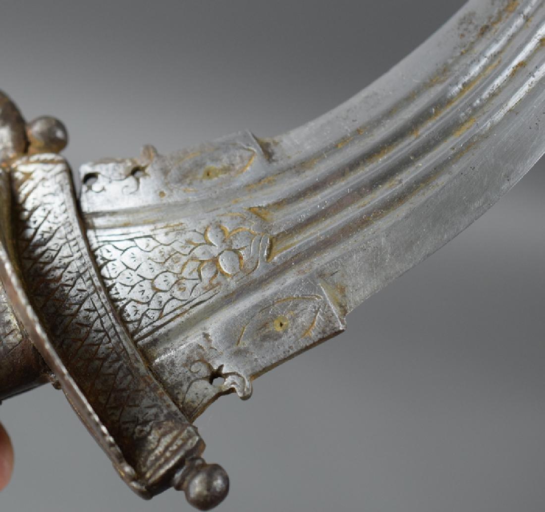 Rare Khanjarli Dagger, India 18 C - 5