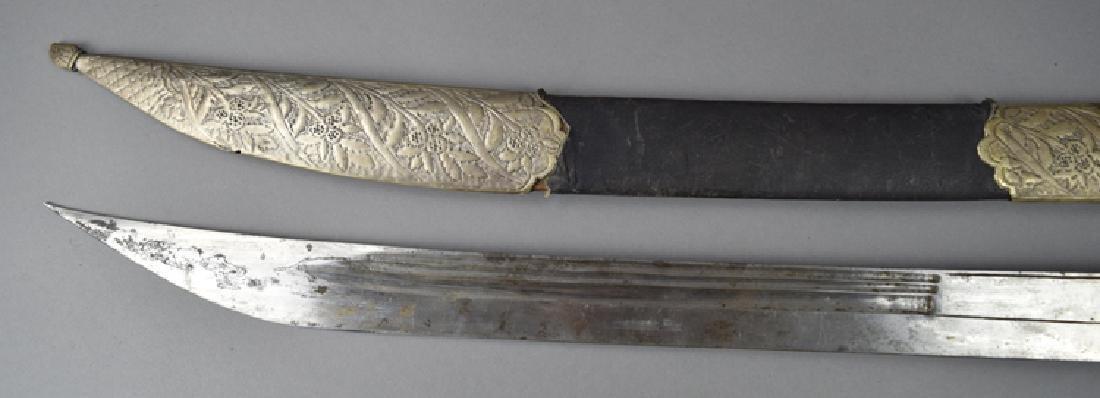 19th Century Turkish Qaddara Sword - 4