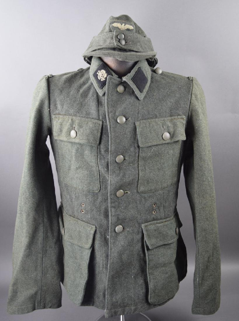 SS original WW2 jacket and hat