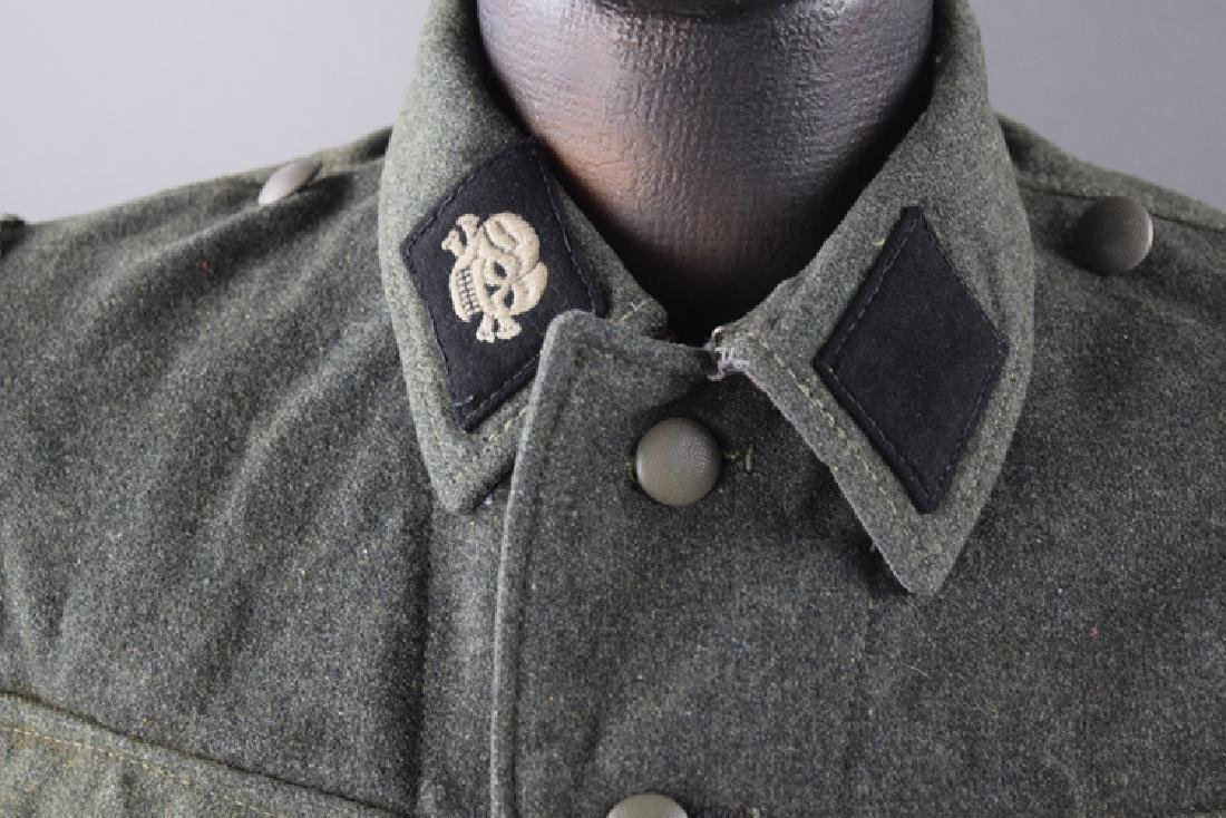 SS original WW2 jacket and hat - 3