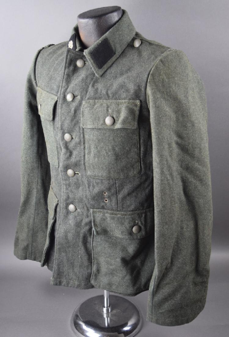 SS original WW2 jacket and hat - 4