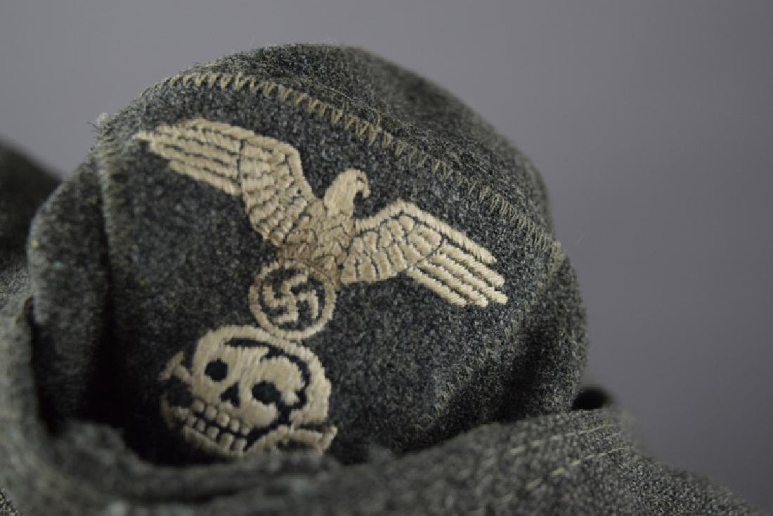 SS original WW2 jacket and hat - 8