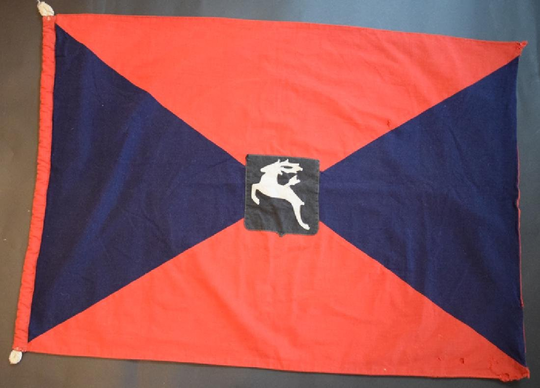 1944 German Don Cossacks regimental flag