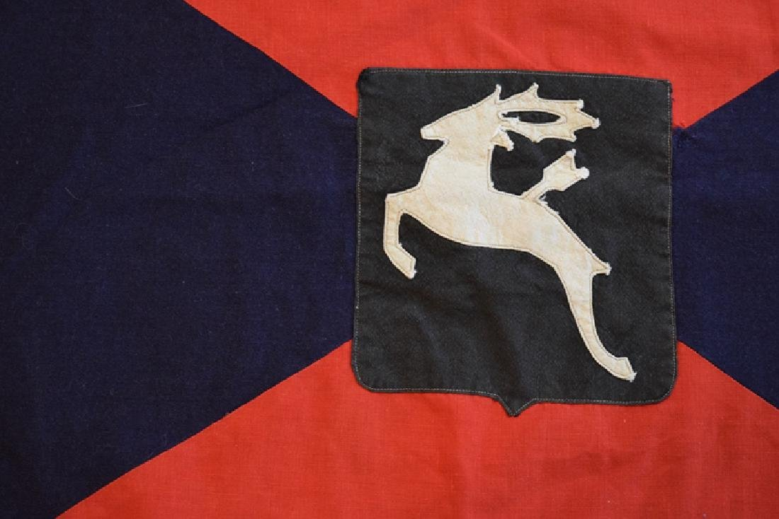 1944 German Don Cossacks regimental flag - 3