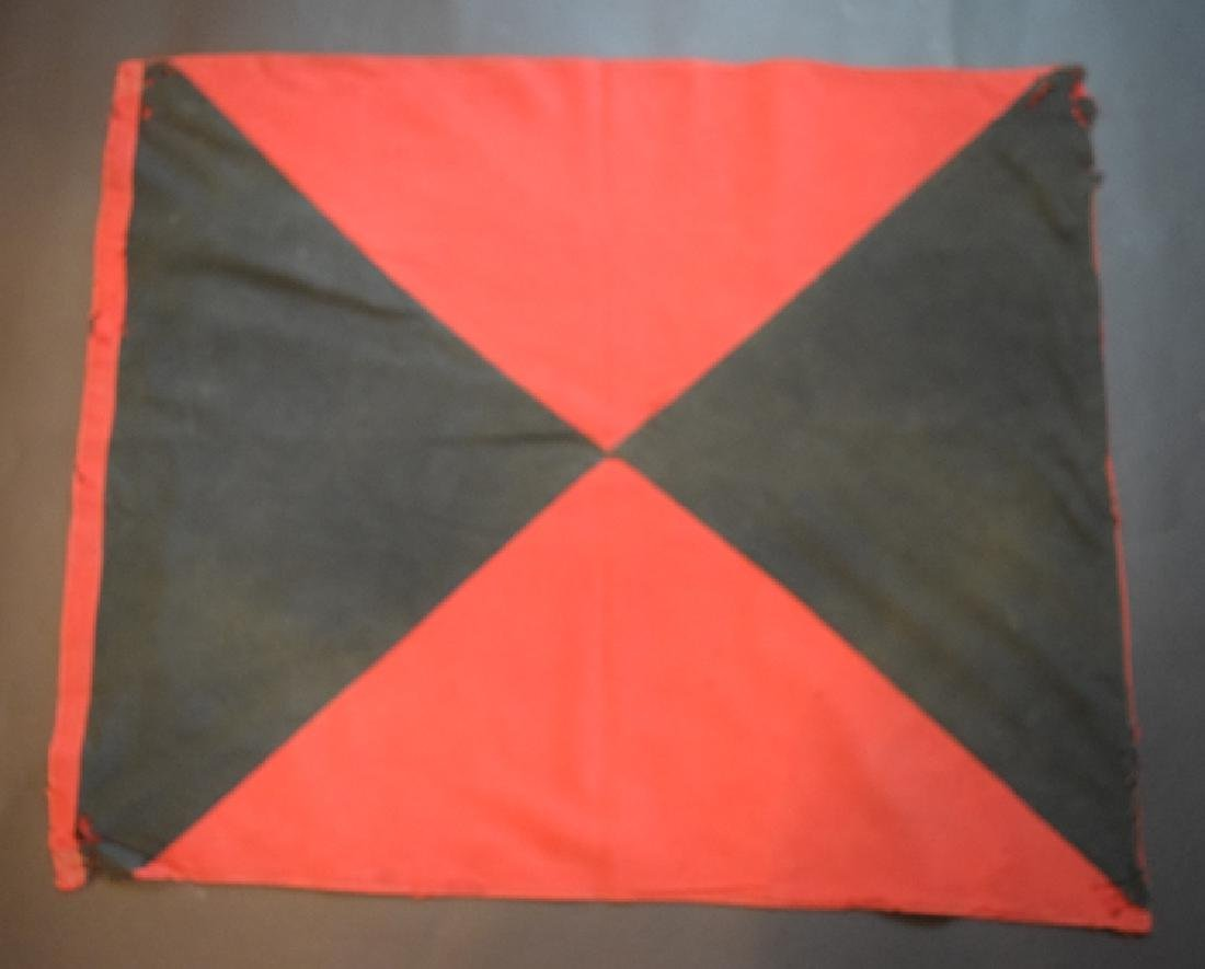 1944 German Cuban Cossacks regimental flag