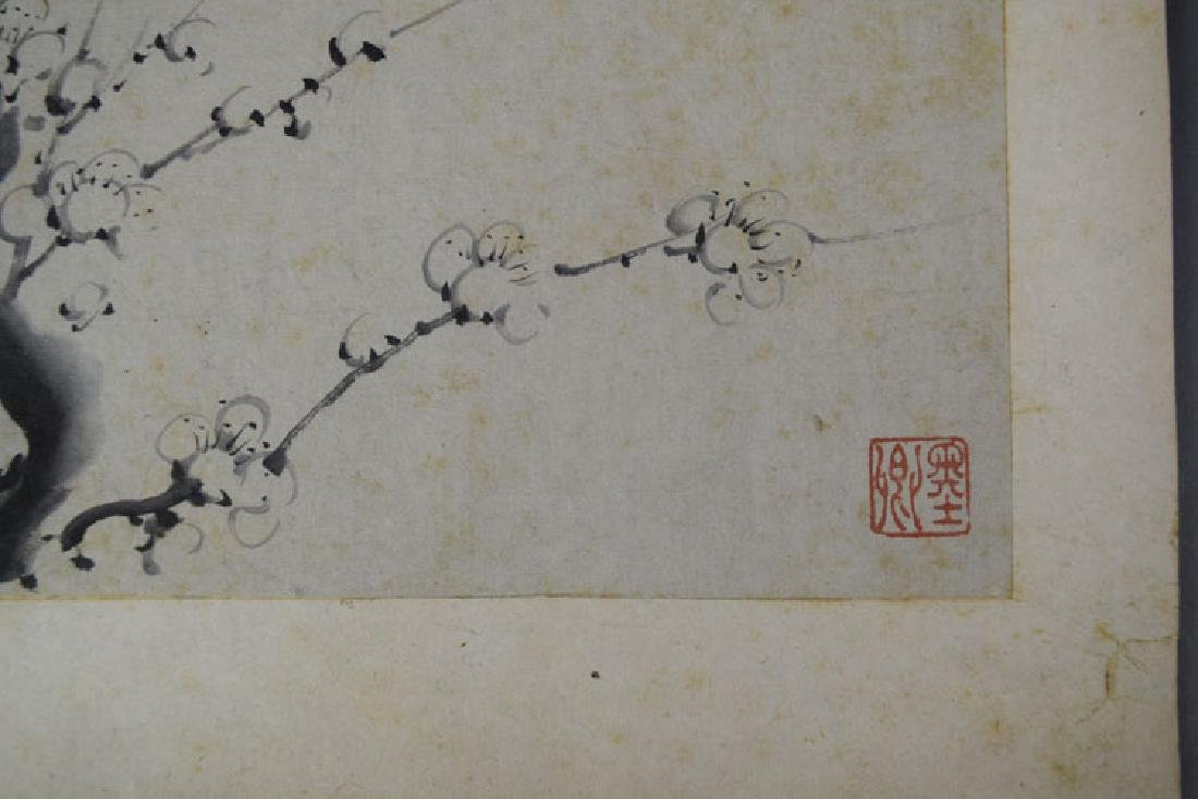 Chinese Qing watercolor album painting - 3