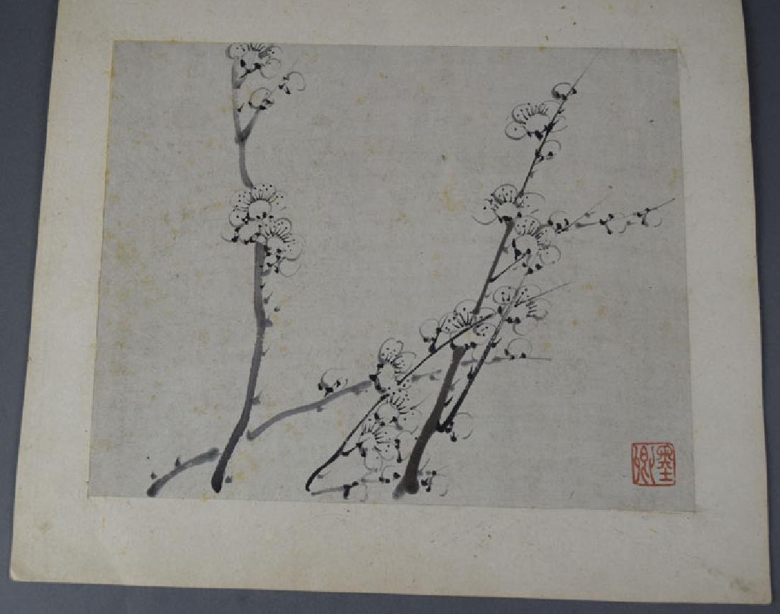 Chinese Qing watercolor album painting - 5