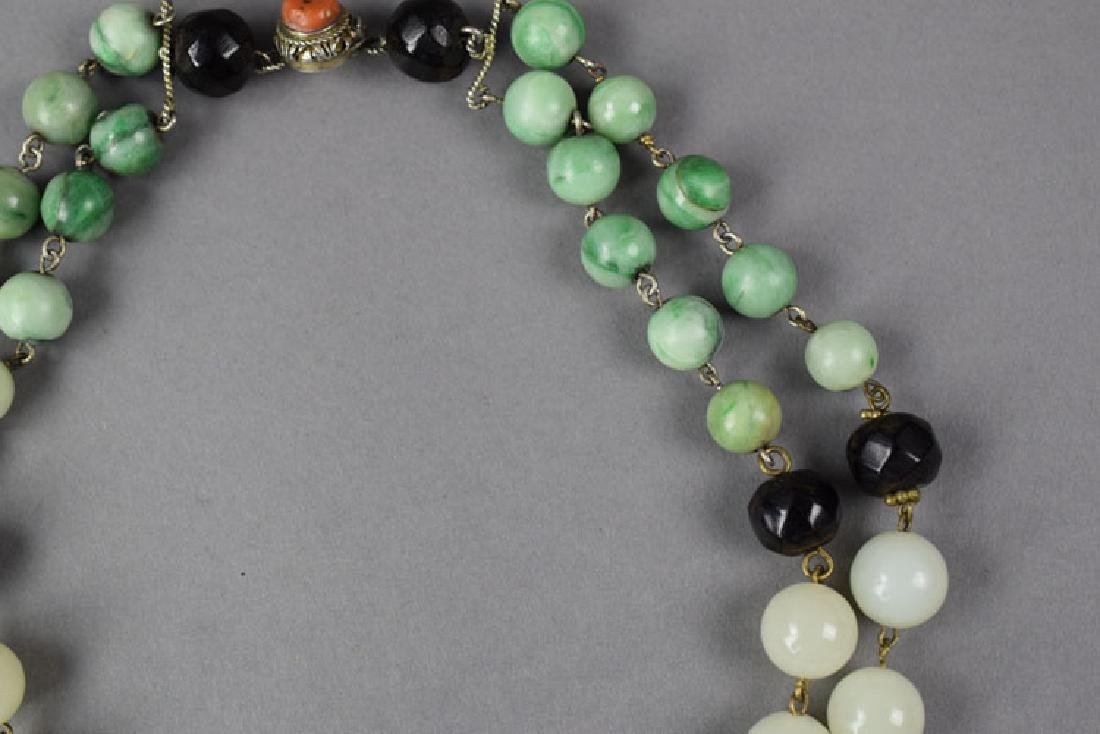 Chinese jade necklace - 3