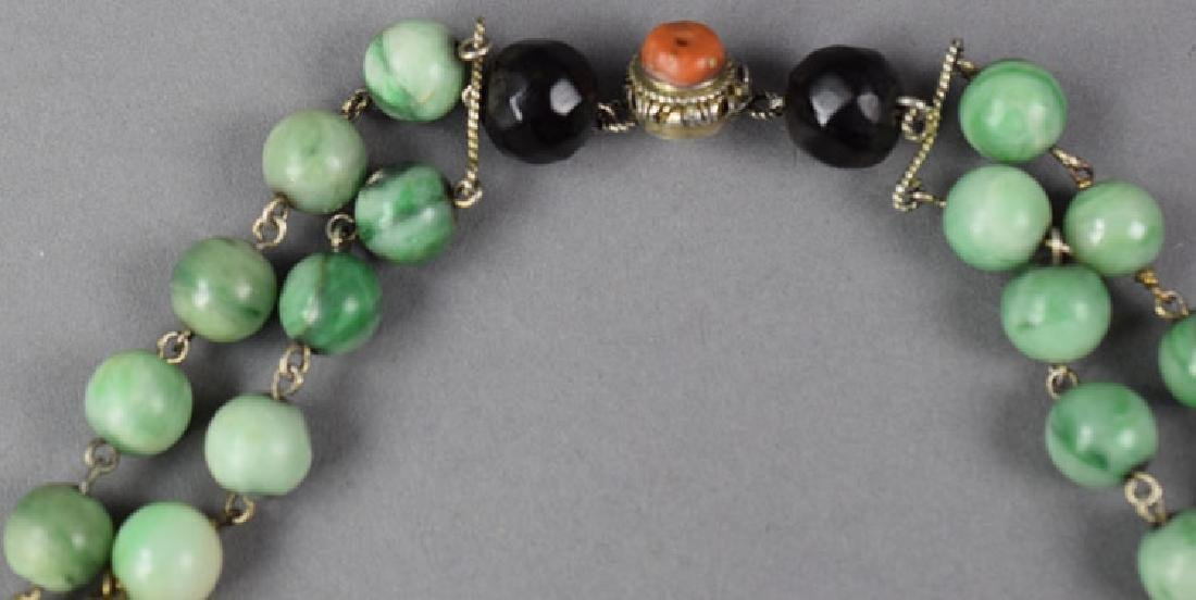 Chinese jade necklace - 4