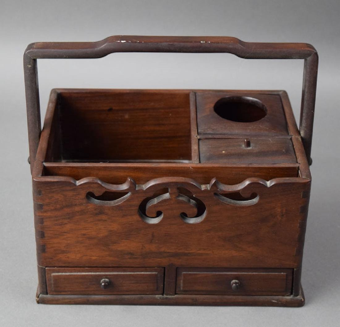 Chinese Qing rosewood box