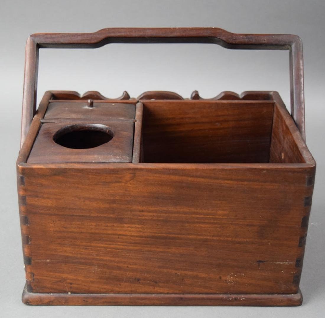 Chinese Qing rosewood box - 4
