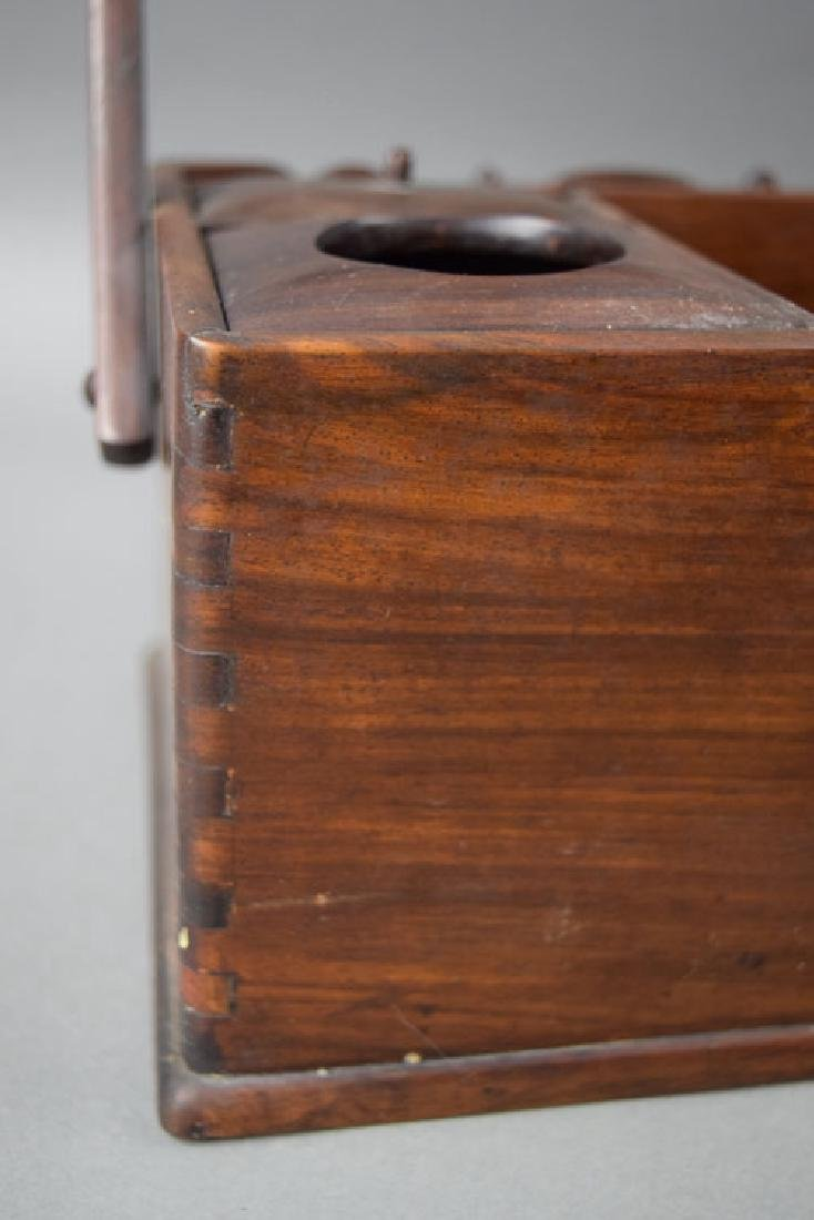 Chinese Qing rosewood box - 5