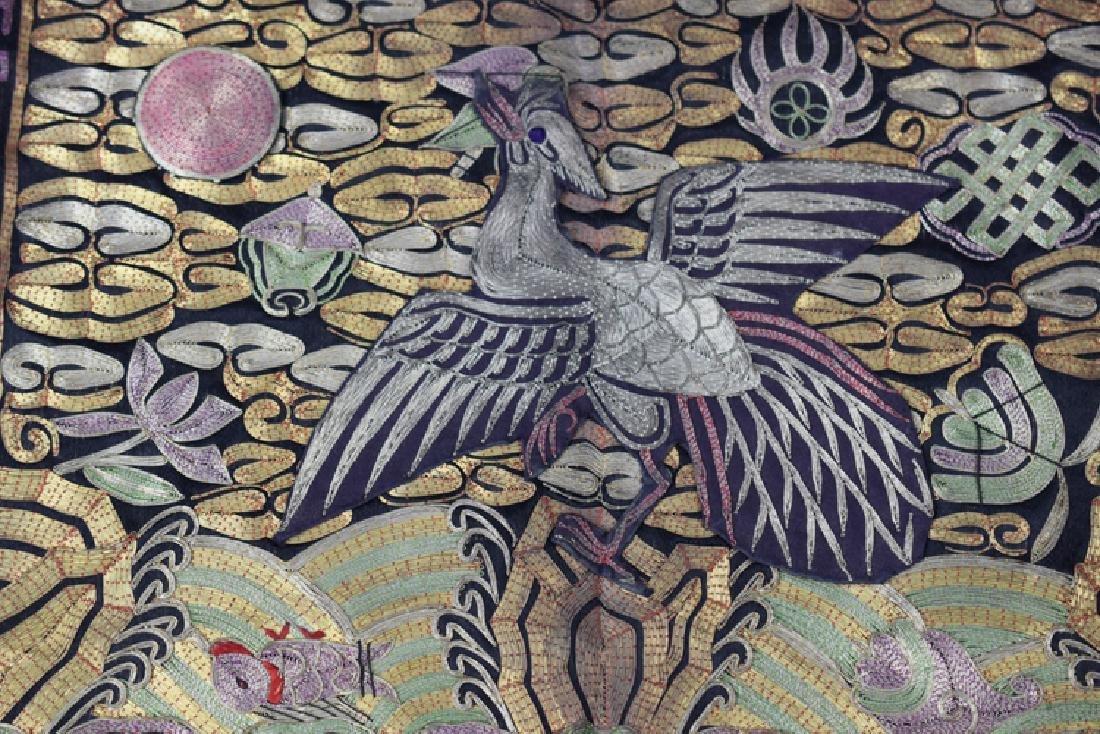 Chinese Qing fourth rank Mandarin badge - 2