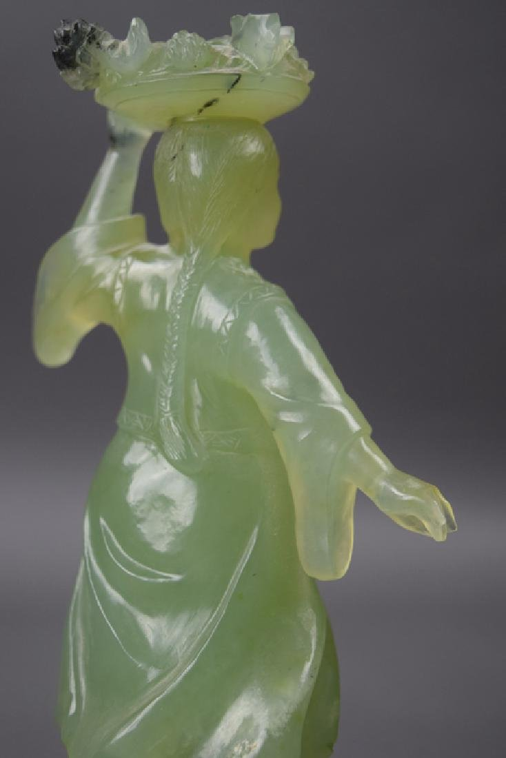 Chinese cultural revolution carved serpentine figure - 4