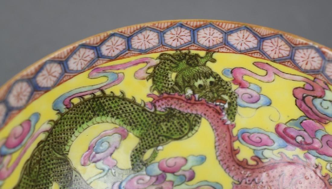 Chinese Republic famille rose eggshell porcelain bowl - 5
