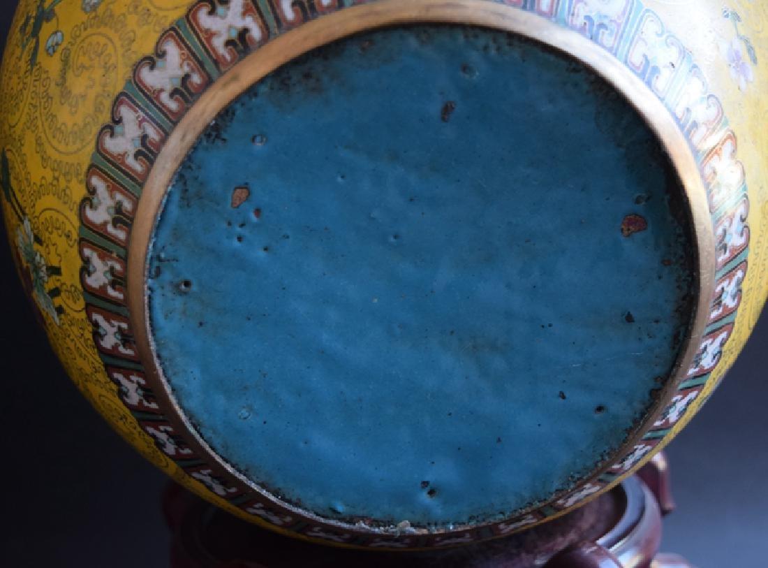 Pr. Chinese cloisonne fish bowls - 3