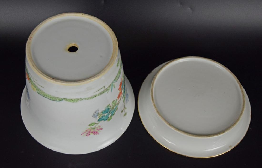 Chinese Republic famille rose porcelain planter with - 4