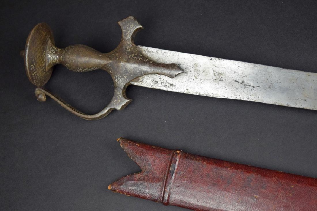 19th C Indian Tulwar Sword - 2