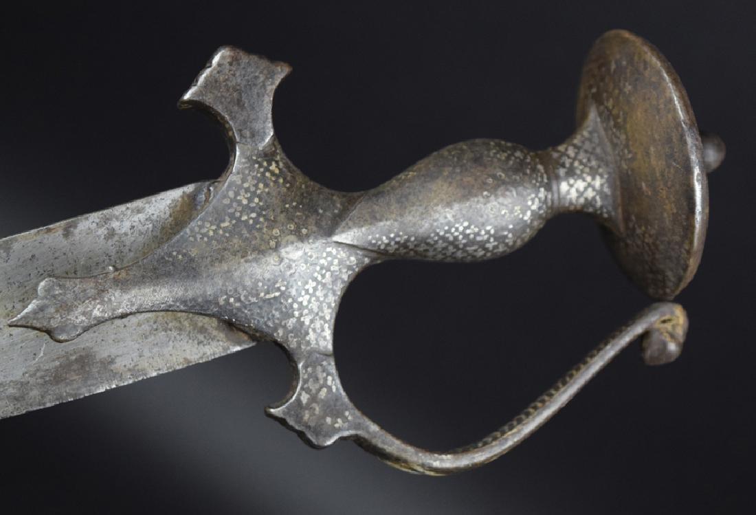 19th C Indian Tulwar Sword - 5