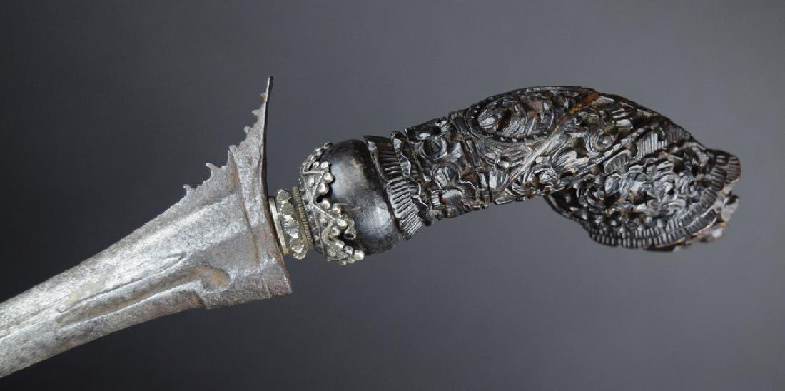 Early 19th C. Kris Java Indonesia Knife - 3