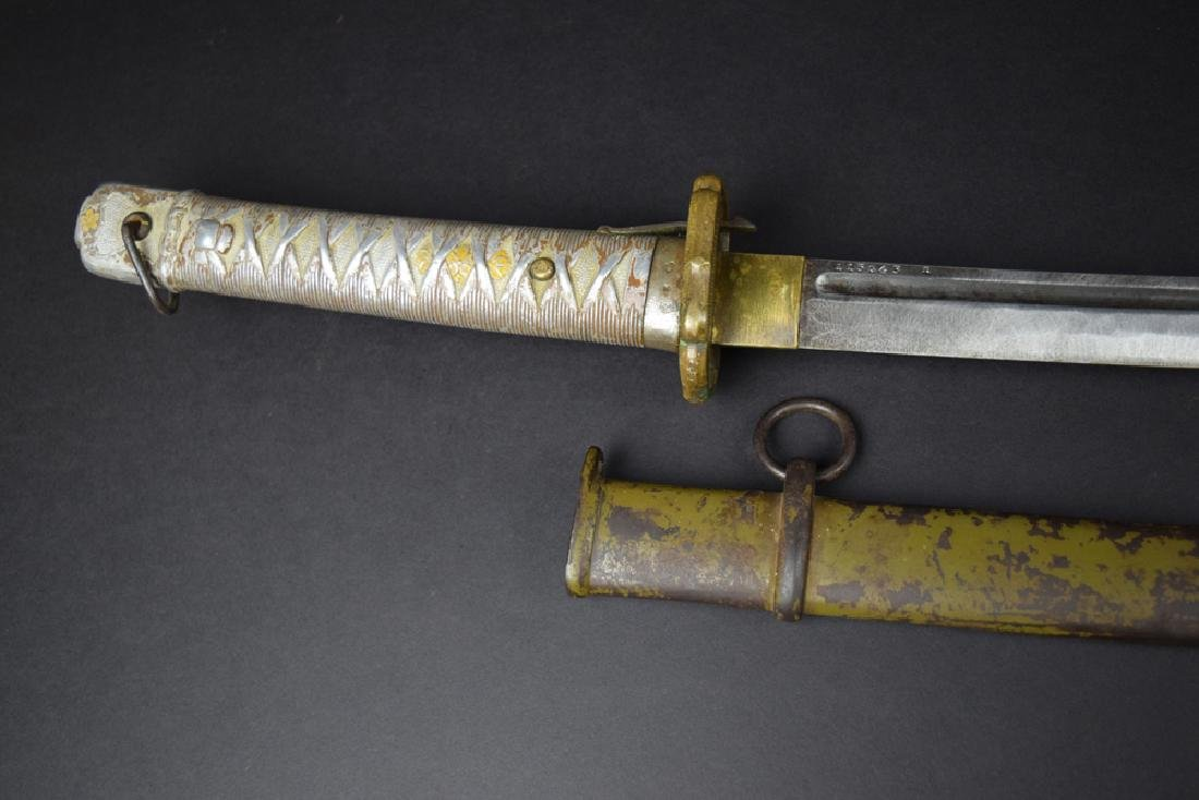 Japanese WWII NCO Officer Sword - 8