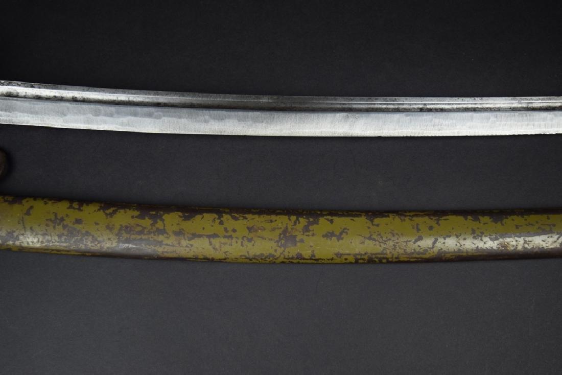 Japanese WWII NCO Officer Sword - 9