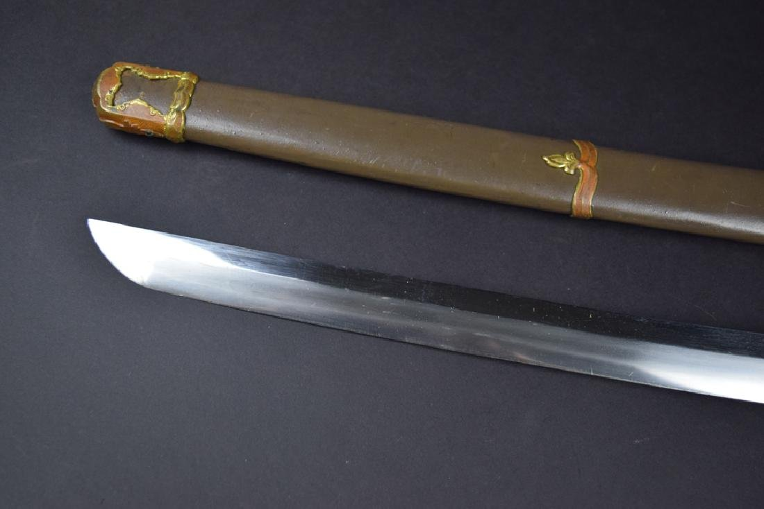 WWII Period Japanese Army Officer Katana Sword - 7