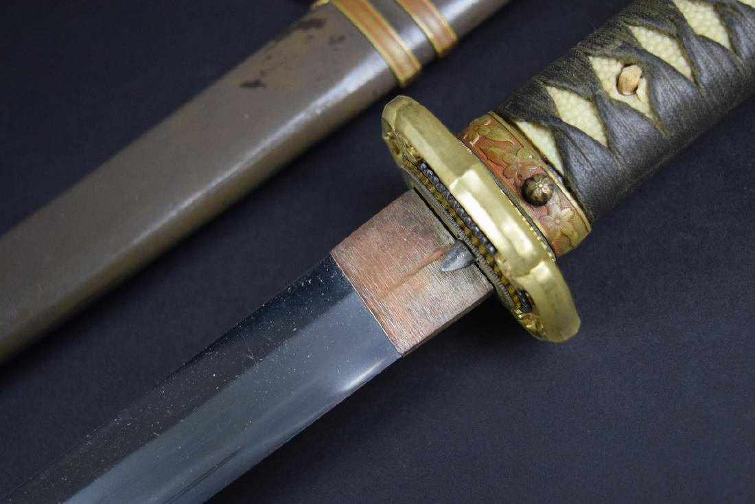 WWII Period Japanese Army Officer Katana Sword - 8