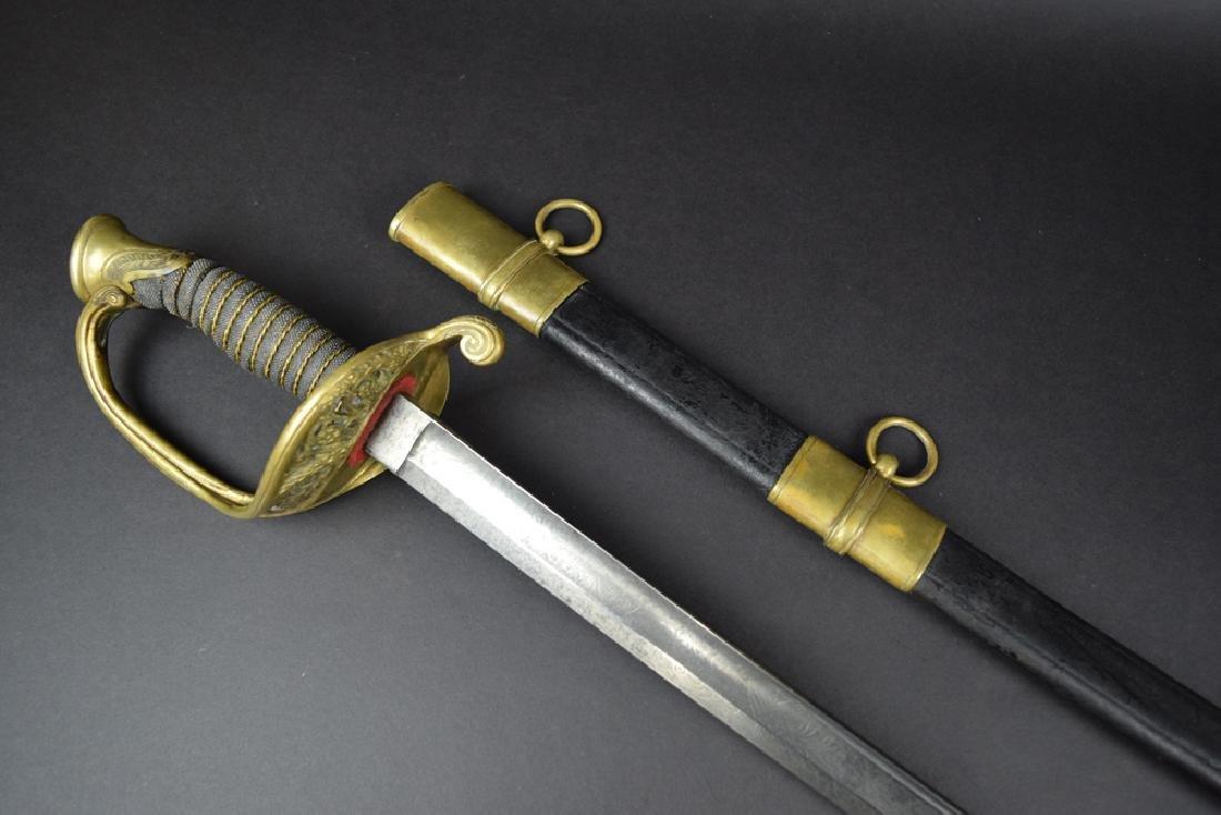 Civil War Officer's Staff and Field Sword - 3