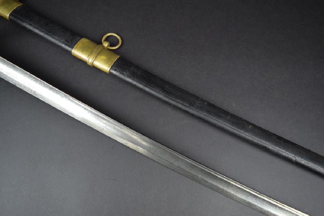 Civil War Officer's Staff and Field Sword - 4