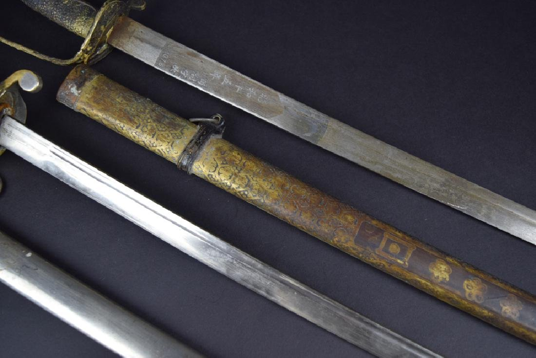 Lot of two Military dress swords - 3