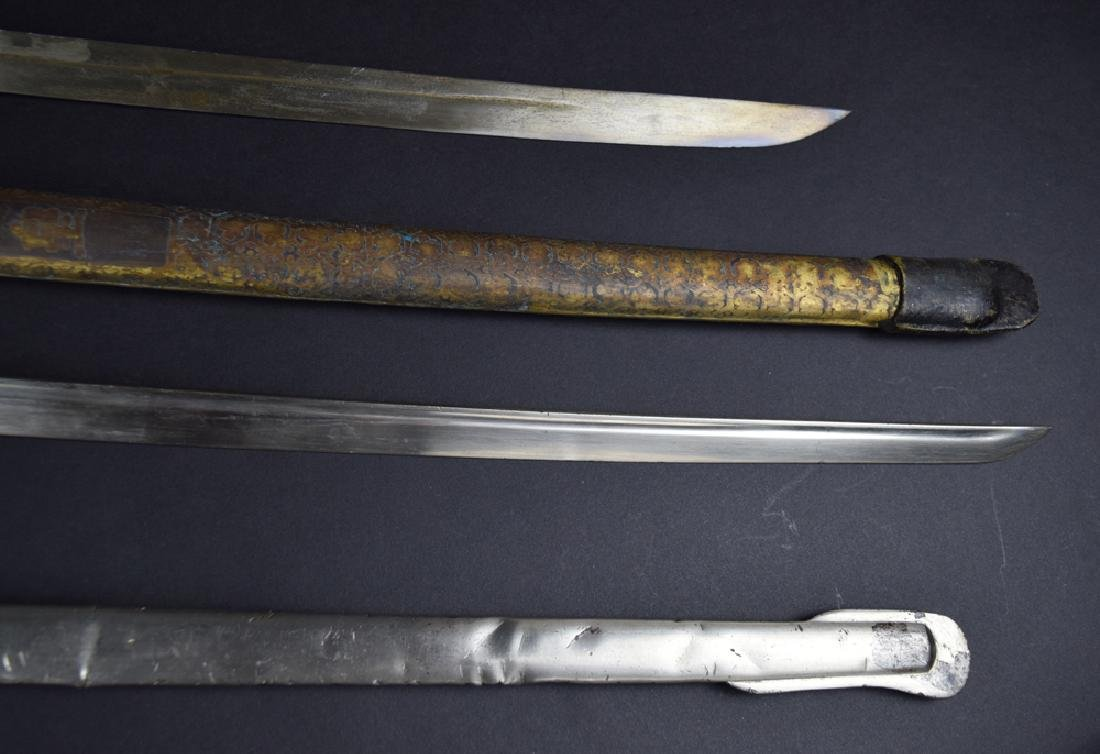 Lot of two Military dress swords - 5