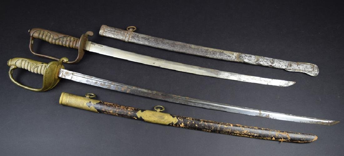 Lot of two Japanese Korean Occupation Swords - 2
