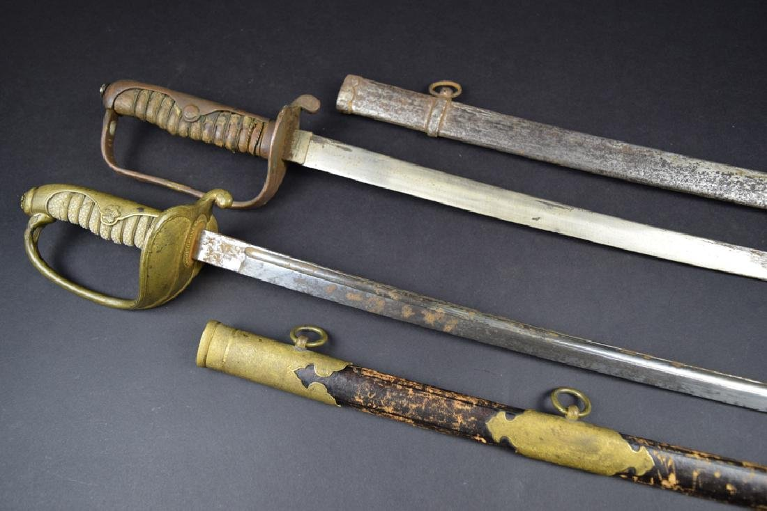 Lot of two Japanese Korean Occupation Swords - 4