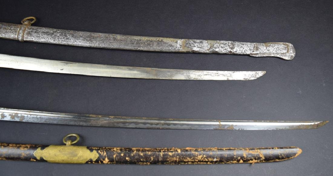 Lot of two Japanese Korean Occupation Swords - 5