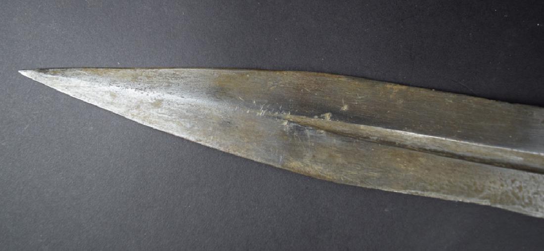 19th Century Turkish / South Caucasian Long Kinjal - 4
