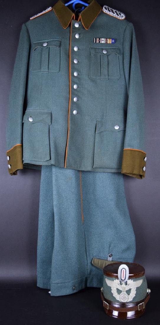 WWII German Rural Police Uniform Coat, Pants, Hat